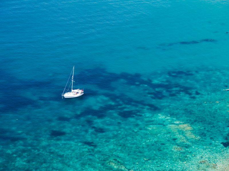 Sicilië boot zee
