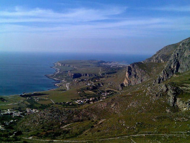 Camping El Bahira uitzicht