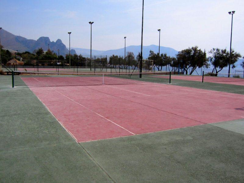 Camping El Bahira tennisbaan