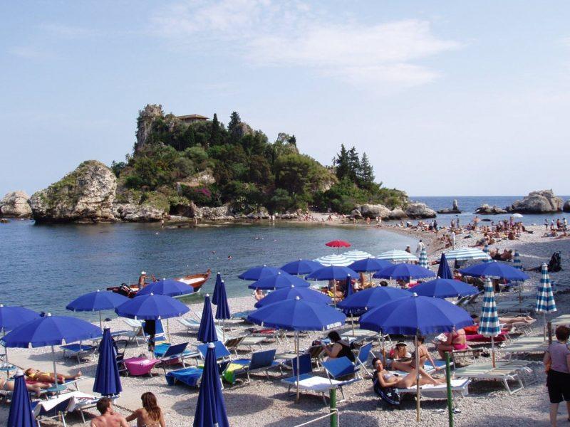 Villa Galati strand