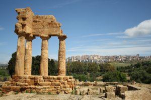 Agrigento ruïnes