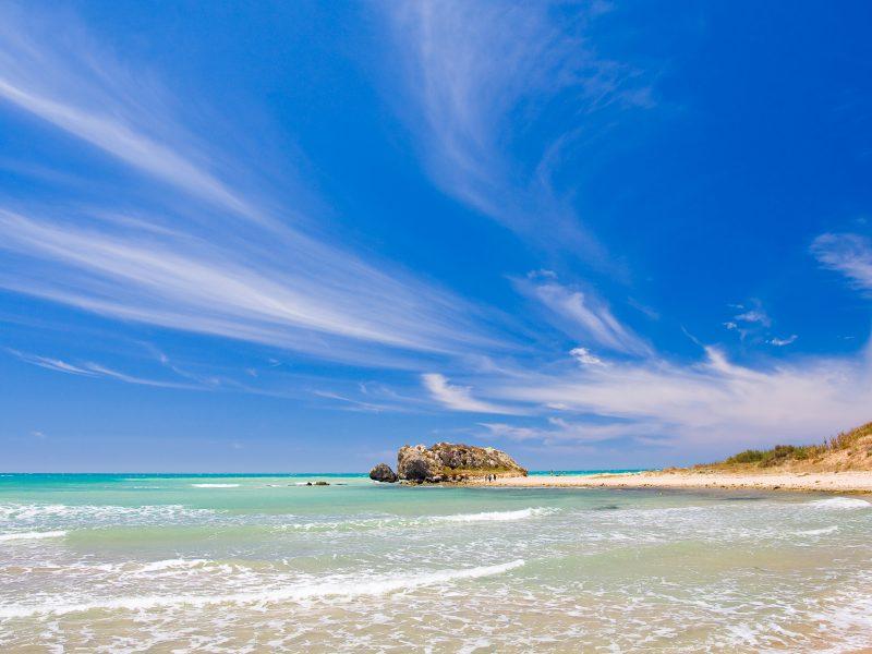Sicilië stranden