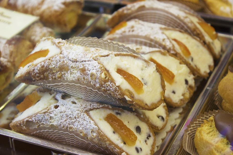 eetgewoonten op Sicilië - Cannoli