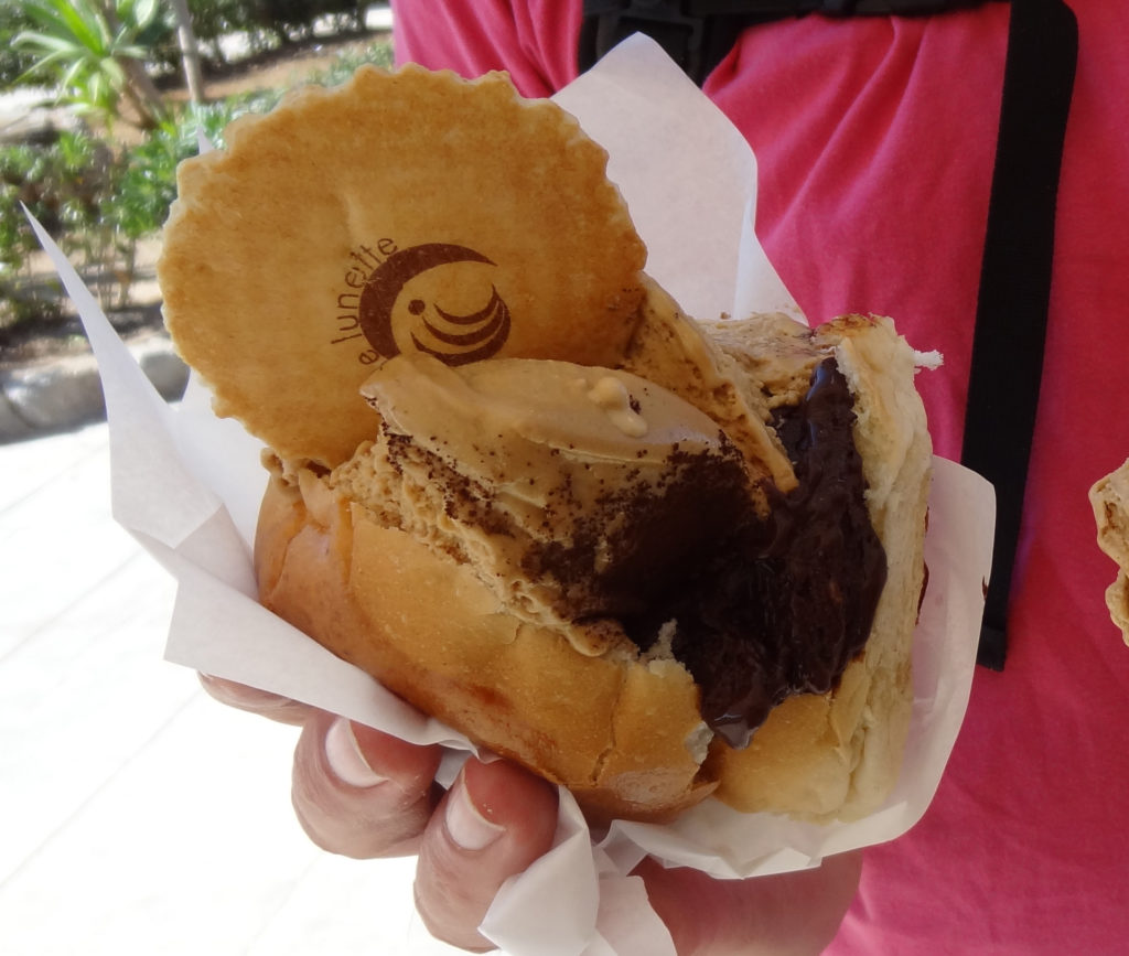 Broodje ijs Sicilië