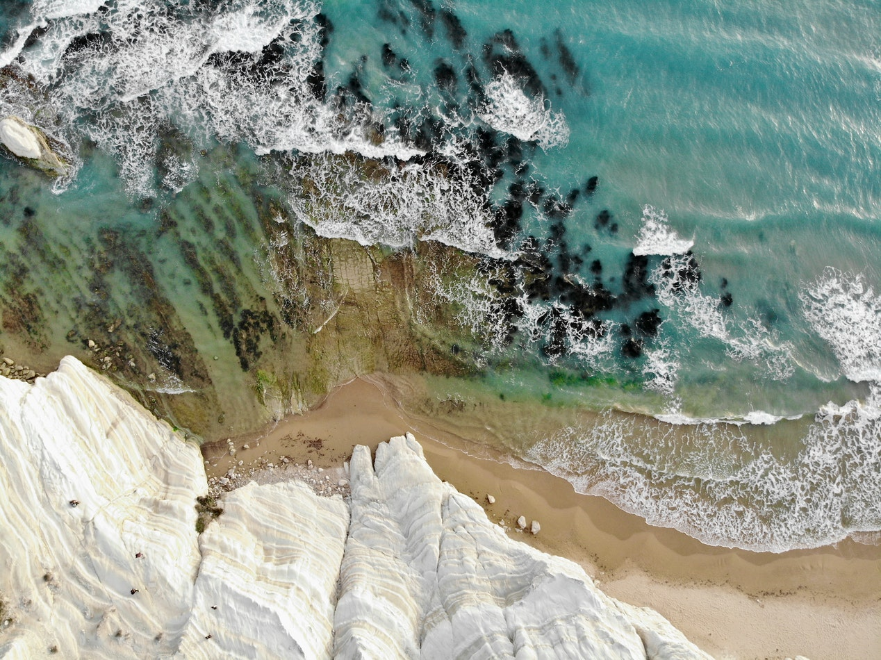 Onontdekt Agrigento, rustige stranden