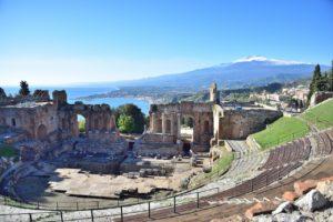 Theaters van Sicilië - Teatro Greco