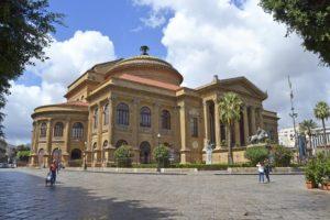 Theaters van Sicilië - Teatro Massimo