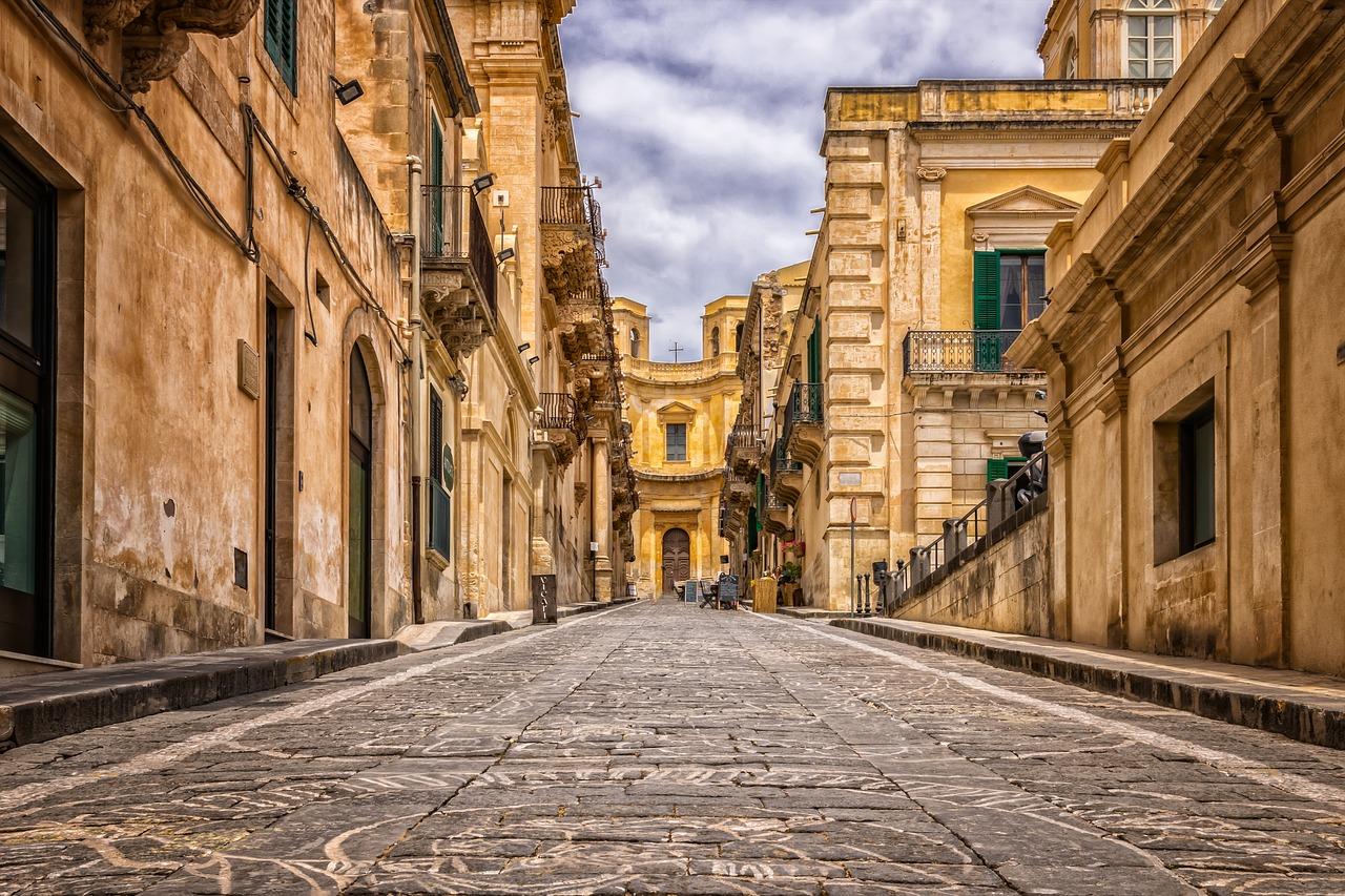 Noto Architectuur op Sicilië via Sicilie.nl