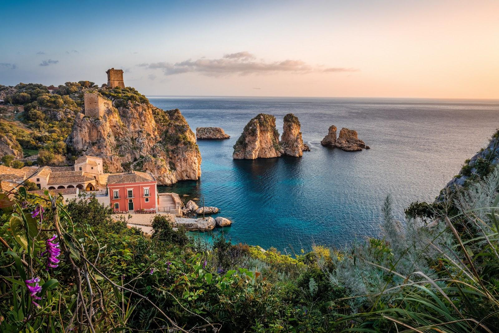 Droomhuis op Sicilië locatie