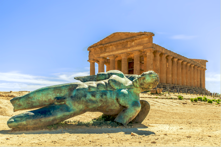 Reis mee naar de tempels in Agrigento