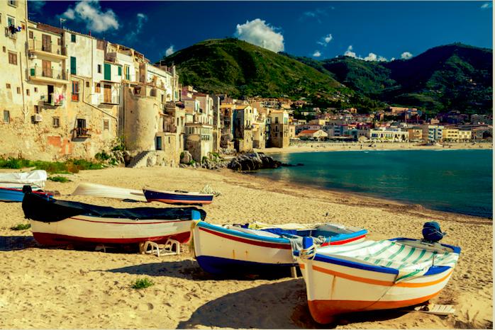 Mooiste kusstadje Cefalù met prachtige stranden