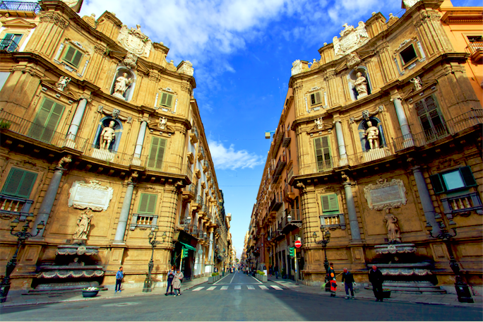 Foto van de stad Palermo